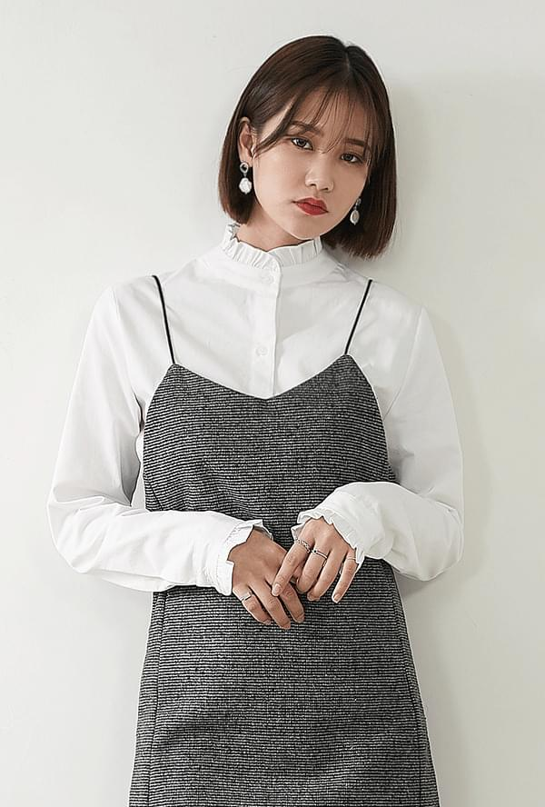 Momo frill blouse