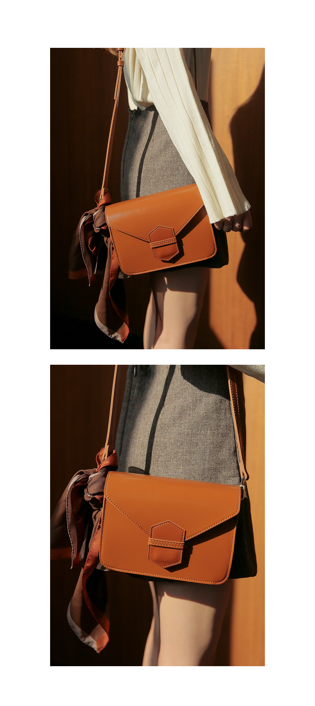 [BAG] 5 COLOR REFINED LEATHER BAG