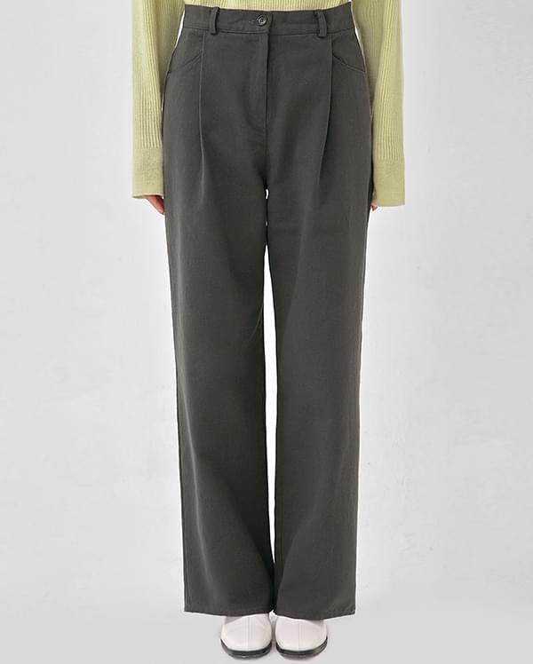 then cotton wide pants