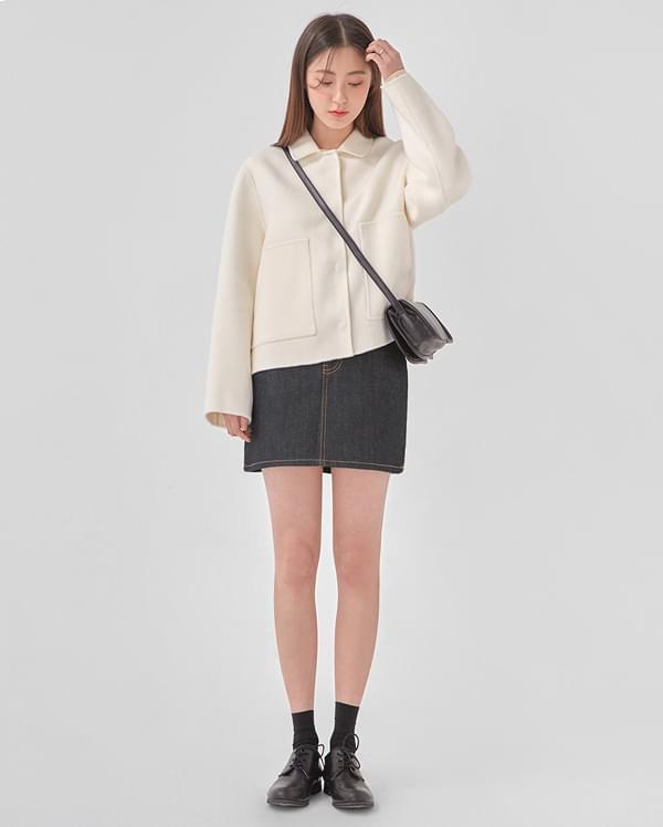 big pocket short jacket