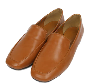 live open square loafer