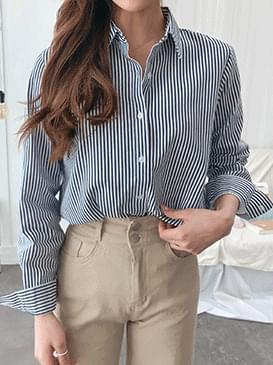 Standard Annie striped shirt