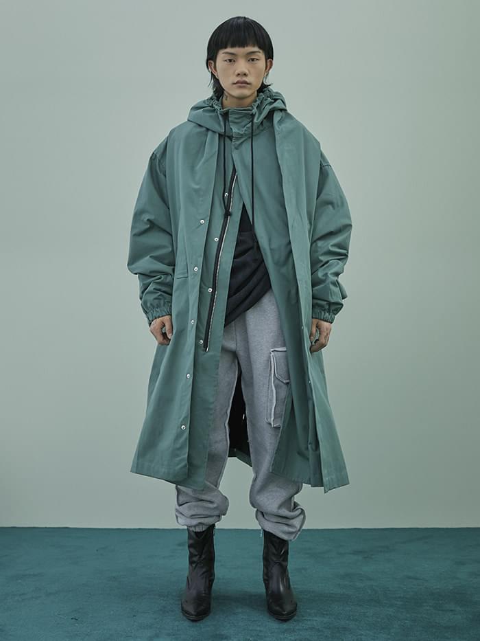 originality 2-way field jacket - UNISEX