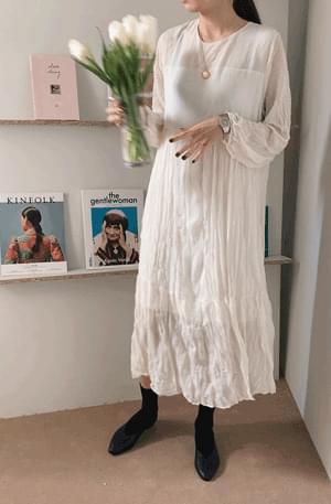 Self-Wedding Chiffon Long Dress