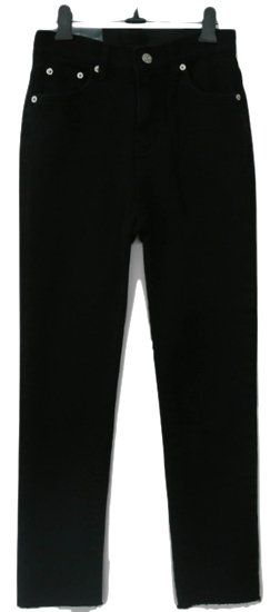 2018 Winter Cheese Black Jean (Brushed Flat)