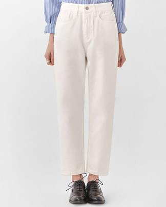 sofa straight cotton pants (s, m, l)