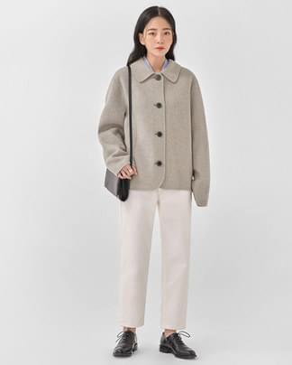 ahead handmade short jacket (wool90%)