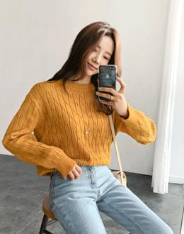 Monica Pretty Knit