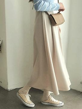 Flare Rush Long Skirt