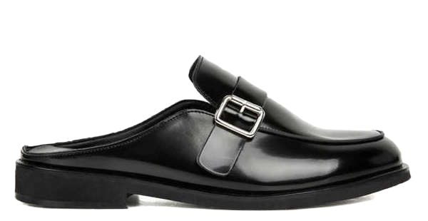 classic leather bloafer - men