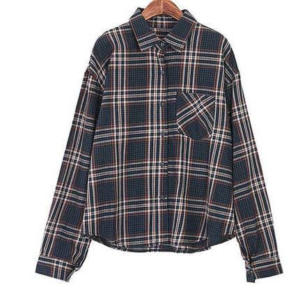 Wells check shirt