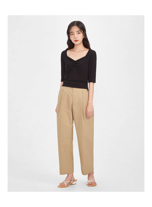 casual tok cotton pants