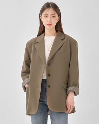 chloe over fit jacket