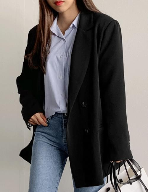 Double jacket with spring