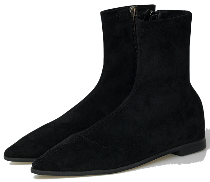 slim shape ankle boots
