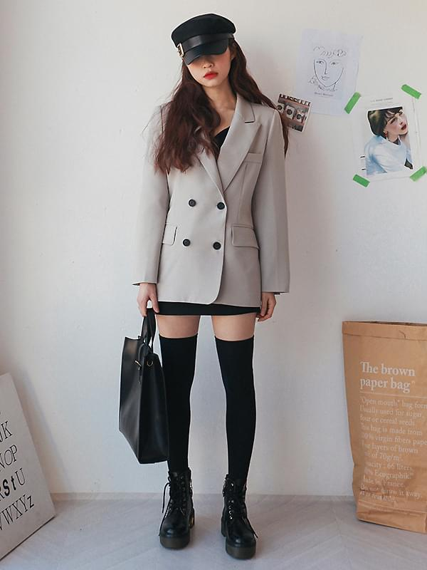 Knit Modern Double Jacket