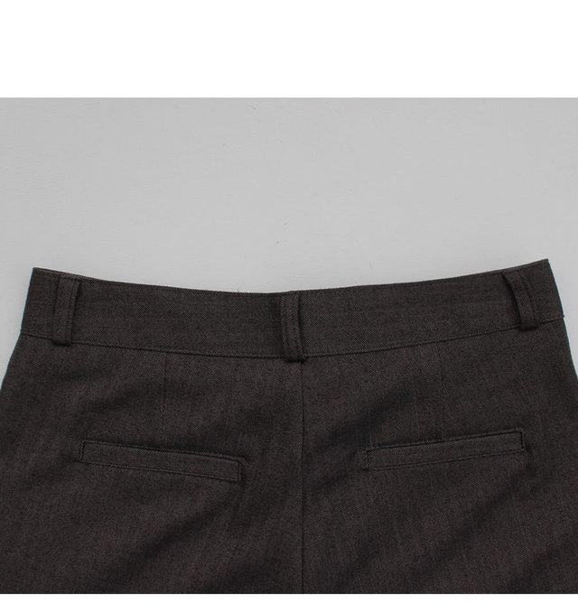 Pontneuf-Slim Straight Slacks