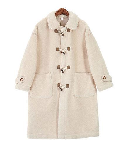 Dino duffel coat