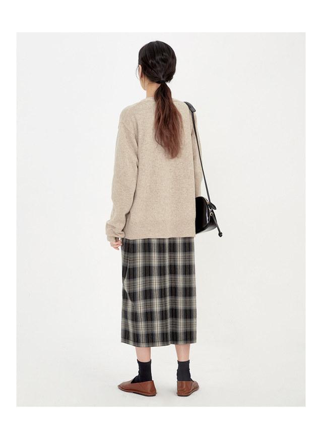 famous wool cardigan