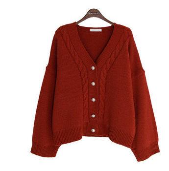 Jeju Loan Knit Cardigan