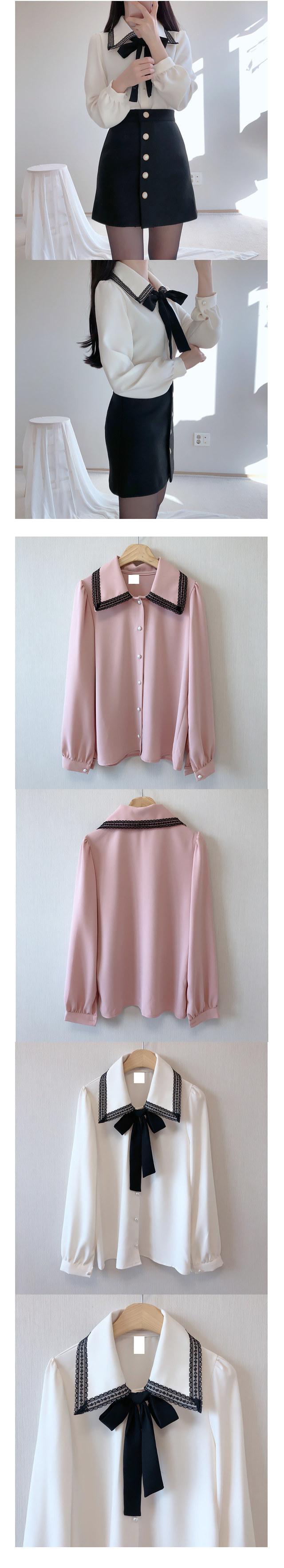 Louisville Ribbon blouse