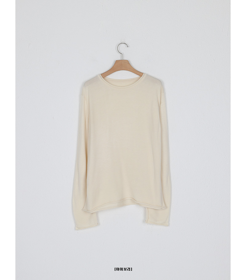 rolling loose round knit