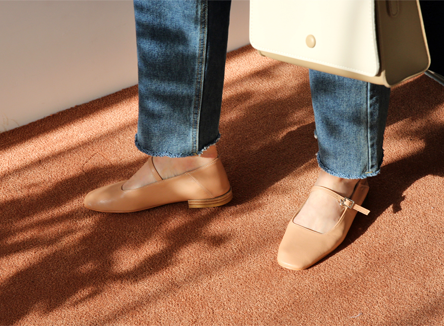 Mont soft mary-jane shoes_J