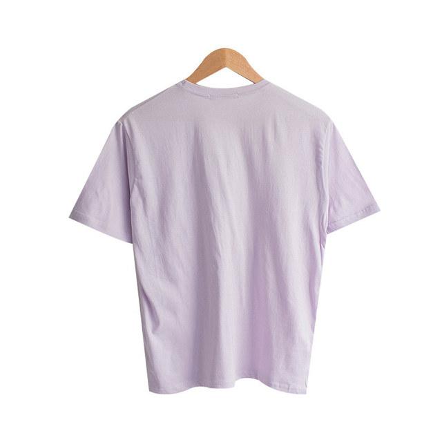 Unleaf Lettering Round T-shirt