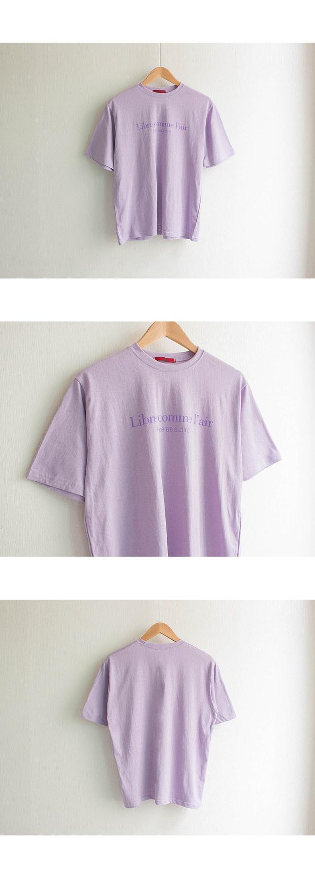 Libre Lettering Round T-Shirt