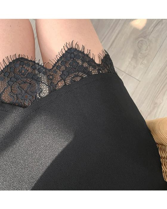 Tulip lace skirt 2 color