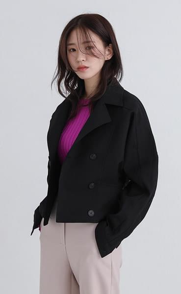 meister pintuck short jacket
