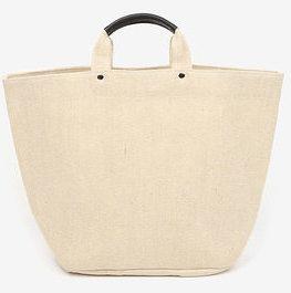 beige big tote bag