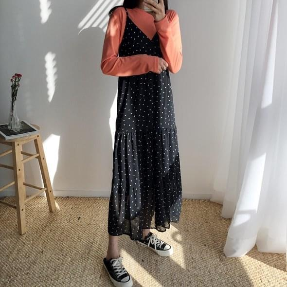 Mix dot dress