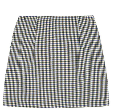 gun club check mini skirt (2 color)