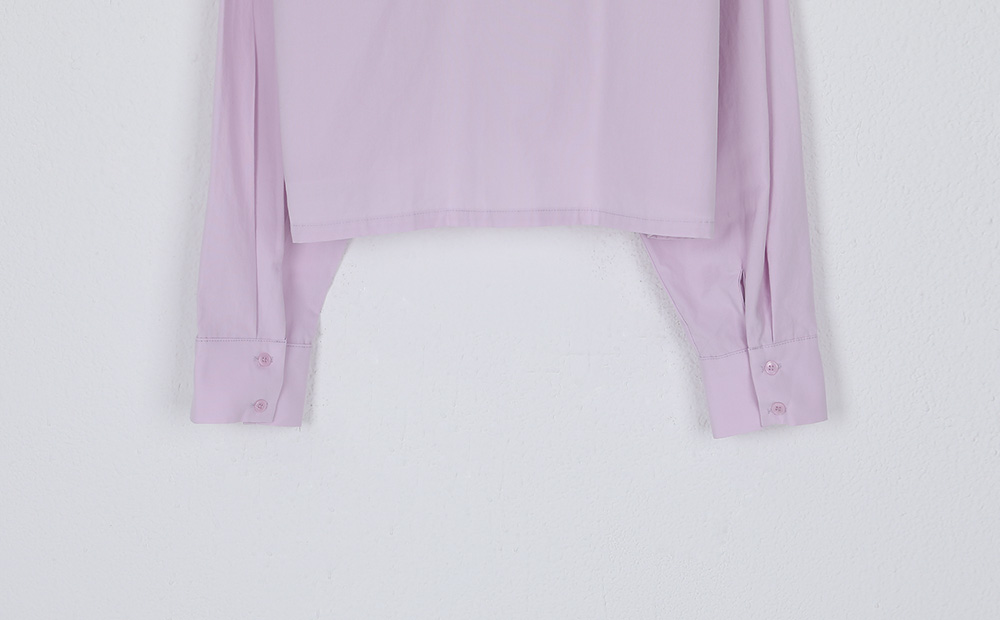basic crop shirt