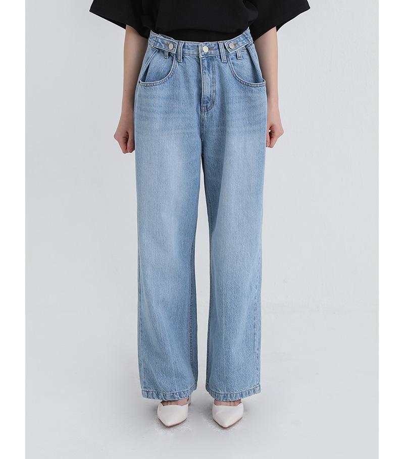 free wide light jeans