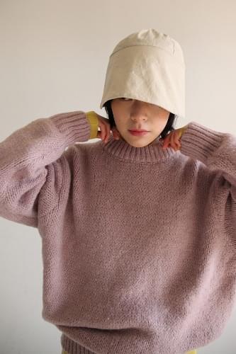 vivid color oversized knit (5colors)