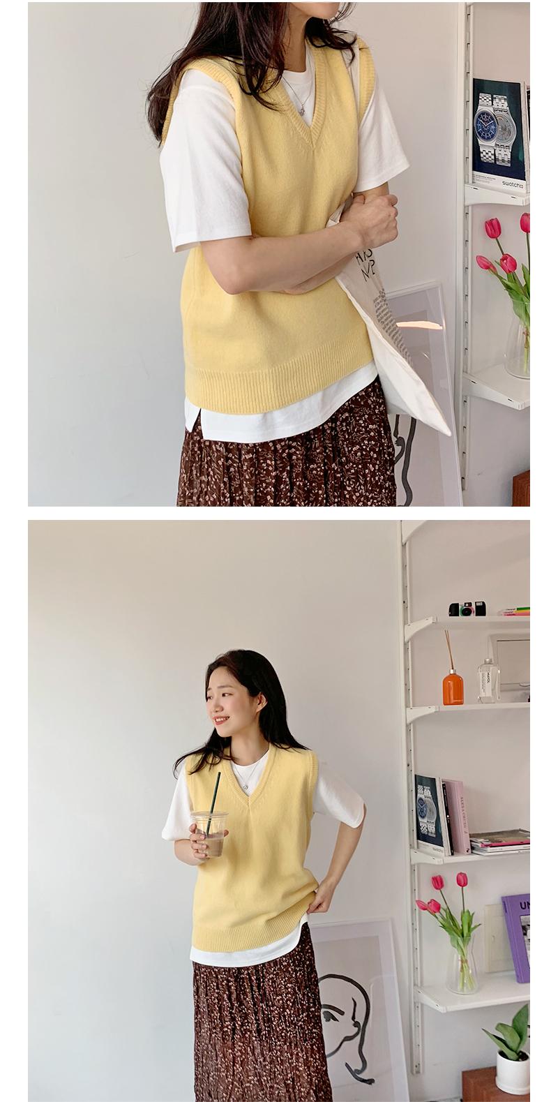 Blend flower skirt_S