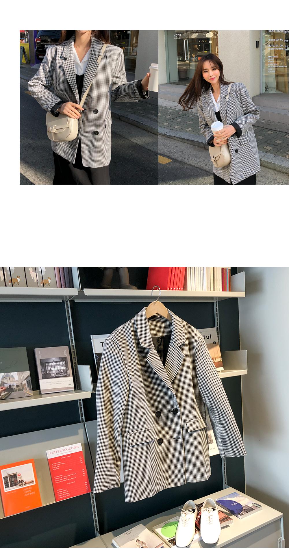 Epitone check jacket