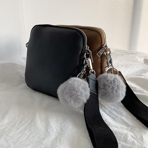 Pompon Handy Two Way Bag