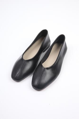 v-cut soft flat shoes