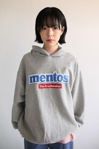 mentos hoodie top (2colors)