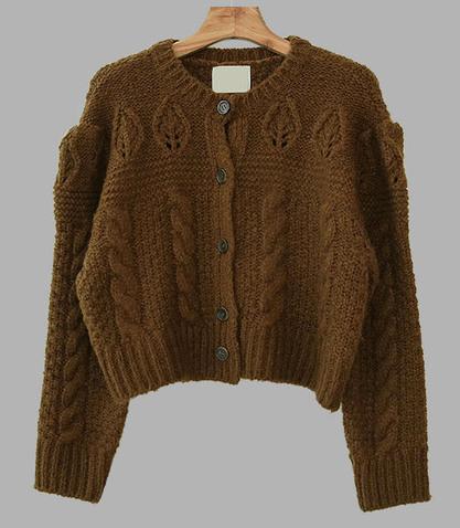 French vintage cardigan