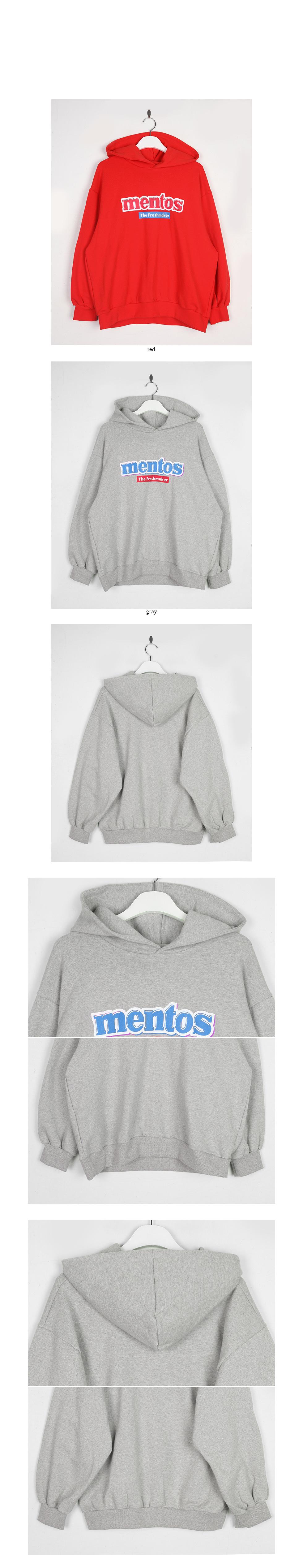mentos hoodie top