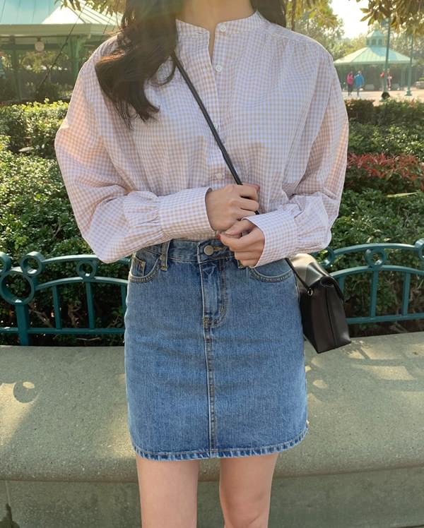 youth denim mini skirt