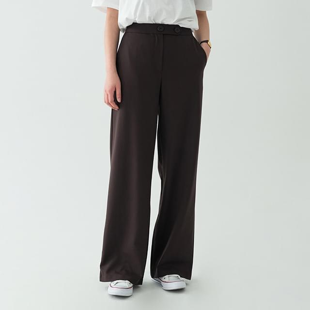 high-waist casual maxi slacks