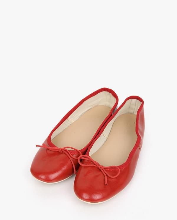 five ribbon flat shoes
