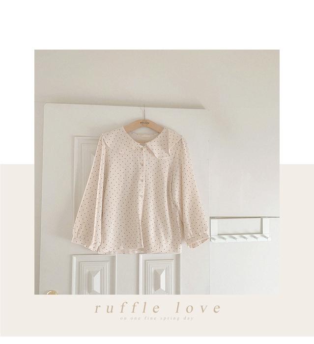 Ruffle Love Dot Blouse
