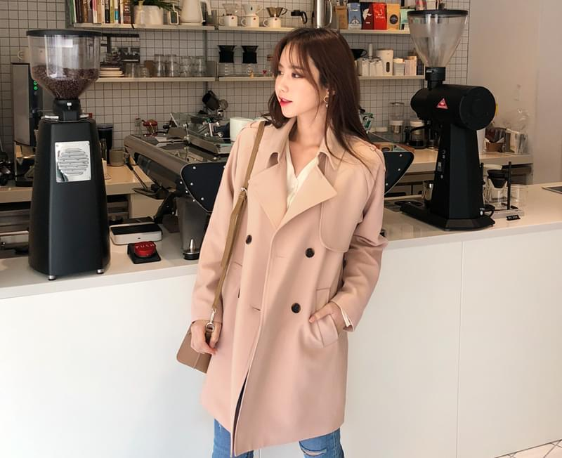 Hershey Trench Coat