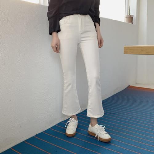 Vogue slim boots cut pants